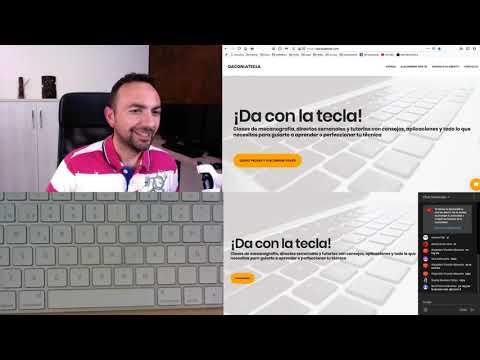 6 - #QuédateEnCasa y practica mecanografía en directo en daconlatecla from YouTube · Duration:  1 hour 10 minutes 15 seconds