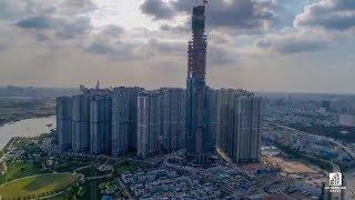 The LandMark 81 - Tòa nhà cao nhất Việt Nam qua lăng kính flycam 4k   Vres TV