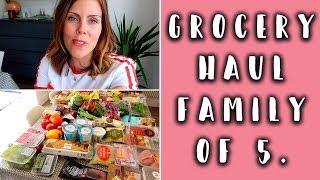 GROCERY HAUL & FAMILY MEAL IDEAS - TESCO
