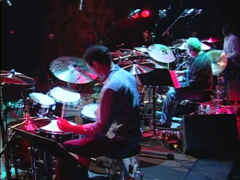 Mark Kelso, Larnell Lewis & Paul Brochu @ The 2008 Montreal Drumfest. en streaming