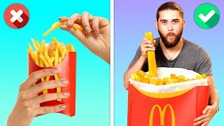Download 12 CRAZY YET DELICIOUS FOOD HACKS YOU WILL LOVE Mp3 and Videos