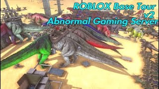 ROBLOX v2 Base Tour - #ABNORMAL GAMING