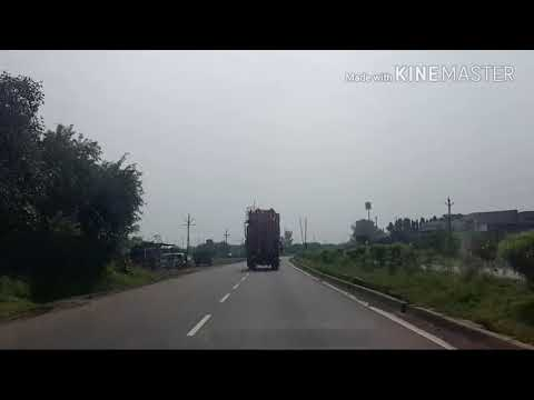 Driving on State Highway 18 from Indore to Bhopal in 3 hours