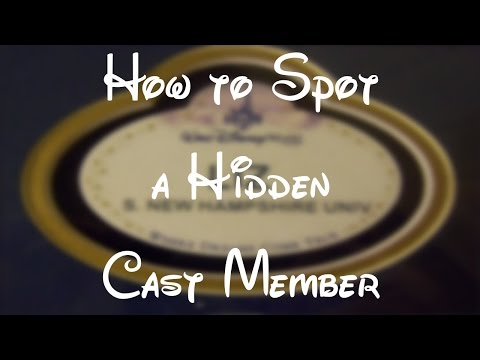 HOW TO SPOT A HIDDEN CAST MEMBER