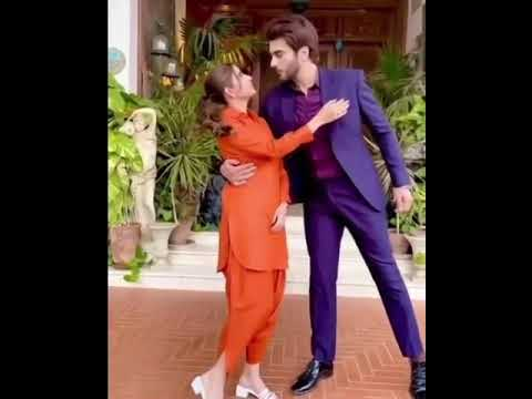 Download #SaboorAly with ImranAbbas On Drrama Set #Amanat#shorts