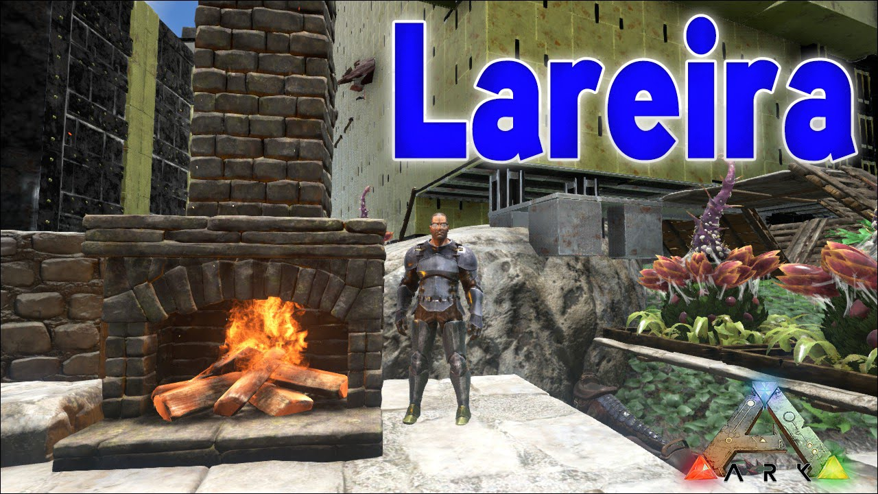 ARK: Survival Evolved - UPDATE - Stone Fireplace/ Lareira de Pedra ...