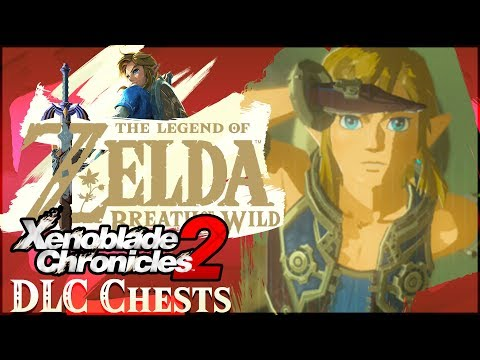 Xenoblade Chronicles 2 FREE DLC ARMOR Locations in Zelda Breath of the Wild!