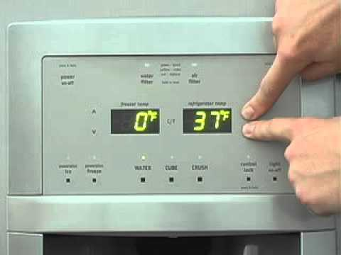 frigidaire side by side refrigerator with controls on door manual rh youtube com frigidaire side by side user manual frigidaire gallery refrigerator side by side manual