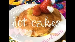 Healthy Oat-lemon / Hot Cakes / Avena-limón Saludables