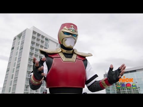 "Power Rangers Super Ninja Steel - Power Rangers vs Sheriff Skyfire | Episode 14 ""Sheriff Skyfire"""