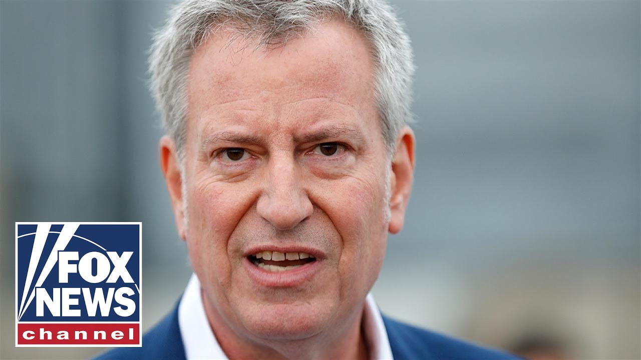 NY Dem slams de Blasio as 'pitiful': City will be better off without him