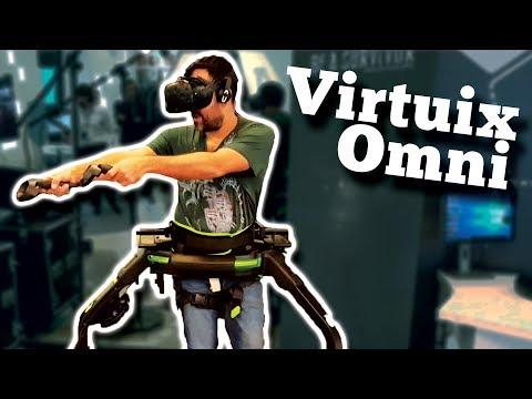 PROBANDO VIRTUIX OMNI | Plataforma de Realidad Virtual (Espacio Fundación Madrid)