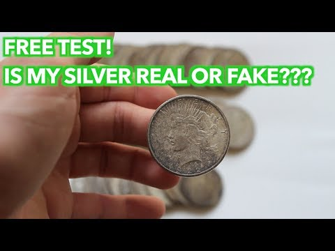 Is Your Silver Coin Real Or Fake? Use The Ping Test!