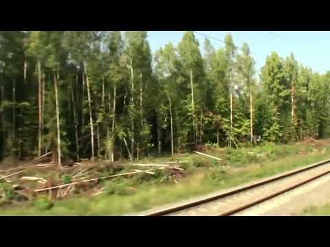 На поезде Москва-Владивосток Фильм 3  Нижний Новгород- Шахунья (часть 5)