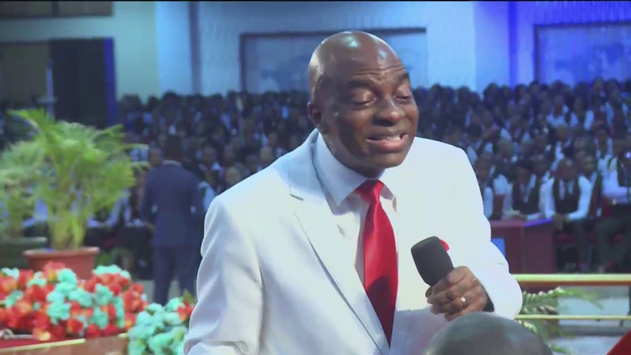 BISHOP DAVID OYEDEPO UNVEILING THE DOMINION POWER OF DEDICATION