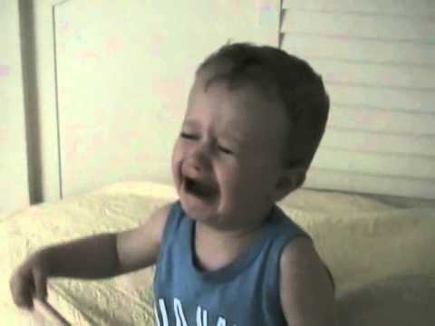 2 year old reacts to NHL lockout