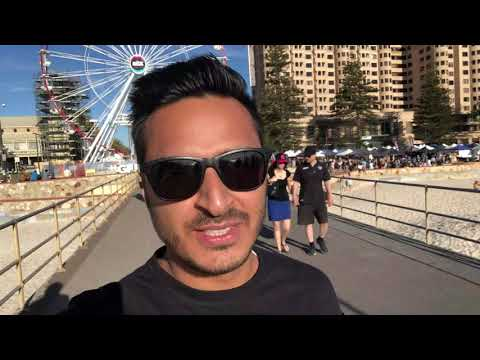 LIFE IN ADELAIDE: CITY TOUR AND GLENELG BEACH II AUSTRALIA
