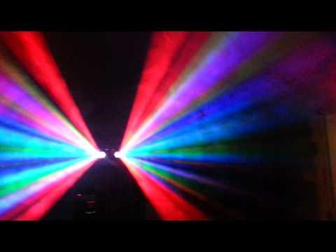 DJ.R Disco licht mit nebel machine