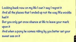 Let it Go-Zac Brown Band (On Screen Lyrics) YouTube Videos