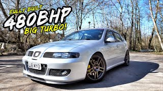 THIS FULLY FORGED *BIG TURBO* 480BHP SEAT LEON CUPRA R IS NUTS!