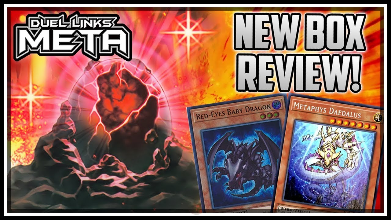 NEW Red-Eyes Support! Metaphys! New Box Review 2/3 [Yu-Gi-Oh! Duel Links]