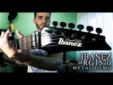Ibanez RG1570 Prestige 2005 DEMO (Metal Riffs in Drop A tuning)