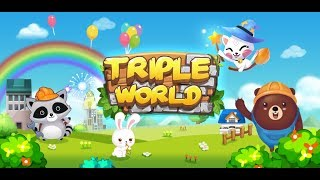 TripleWorld: Animal Friends Build Garden City