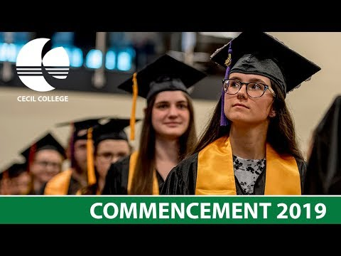 Cecil College Commencement 2019 Live Feed