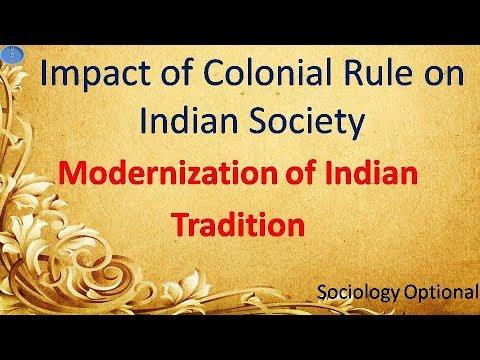 india towards westernization modernization
