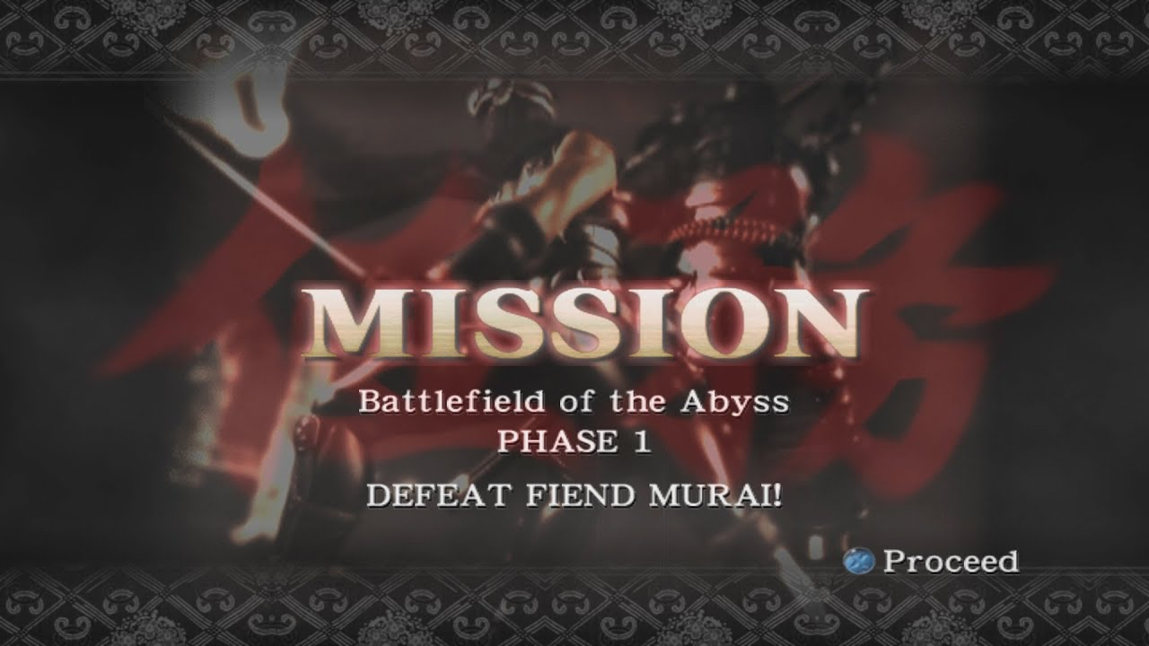 Ninja Gaiden Black Mission Mode - Battlefield of the Abyss Phase 1
