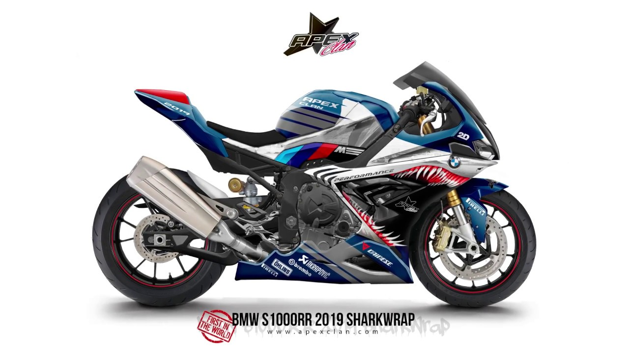 2019 bmw s1000rr debuts on eicma crazy livery look youtube. Black Bedroom Furniture Sets. Home Design Ideas