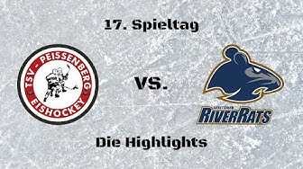 "TSV Peißenberg ""Eishackler"" vs. ESC ""River Rats"" Geretsried 