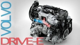 NEW Volvo Drive-E Powertrains -- Efficient Driving Pleasure