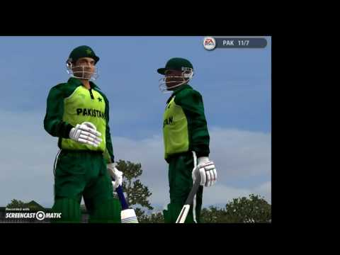 EA Cricket  2005 IND VS PAK ALL OUT for 34