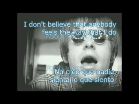 Video de musica de Oasis - Letra 'wonder wall'