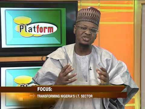 Interview with the Director General NITDA, Focus Transforming Nigerian IT Sector 1