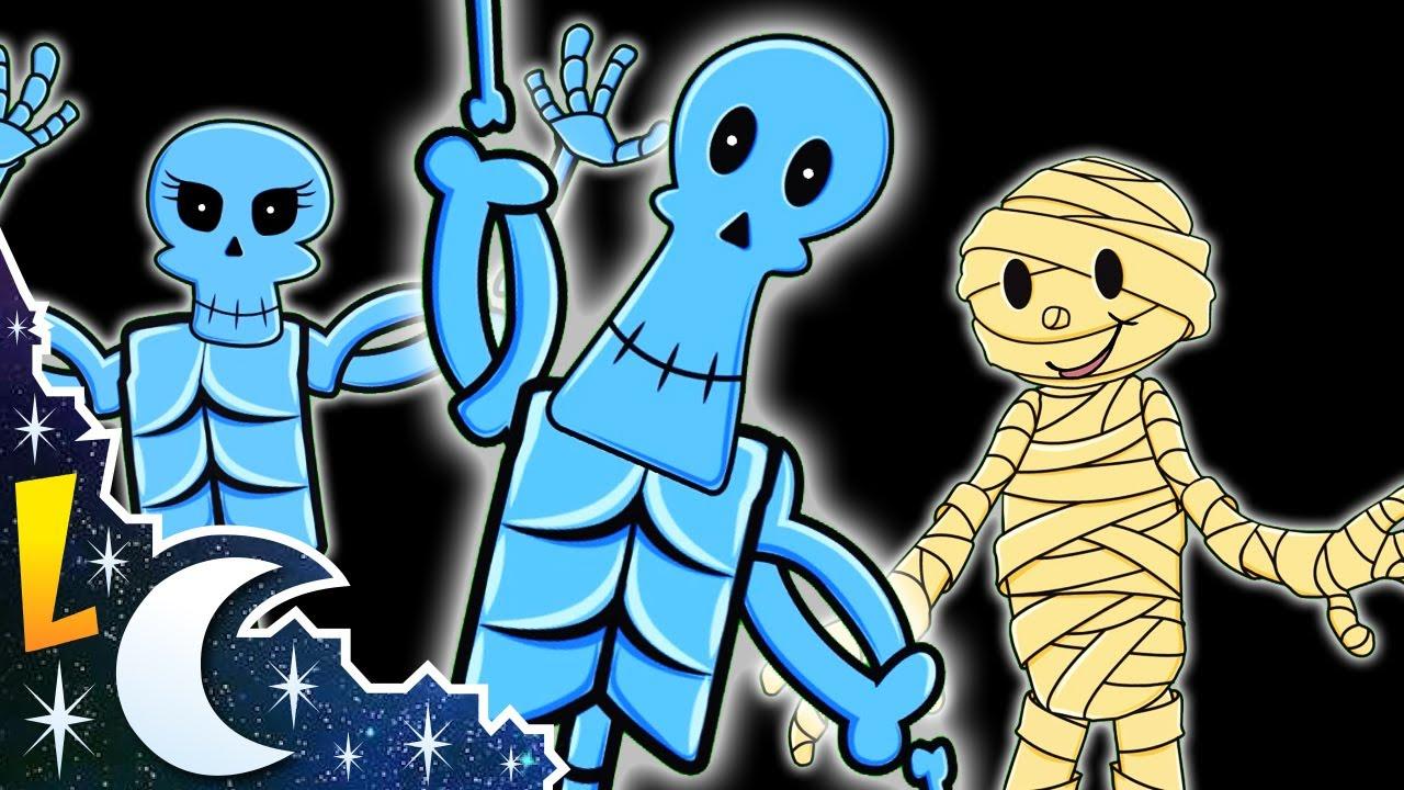 El Baile De Los Esqueletos Canciones Infantiles Rondas Para Niños Youtube