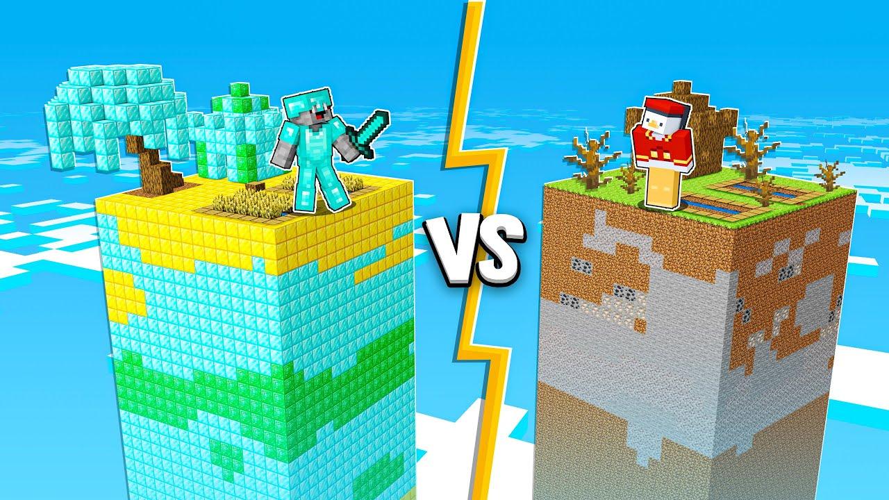 Download PRO WELT vs NOOB WELT in Minecraft