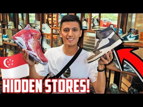 FIRST TIME HYPEBEAST SHOPPING! HIDDEN HYPE SHOPS FOUND IN SINGAPORE!