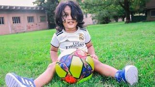 නේති Two years old Little soccer player  B-Roll