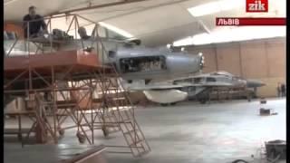 ЗІК - Ремонт МіГ-29 на Львівському авіаремонтному заводі