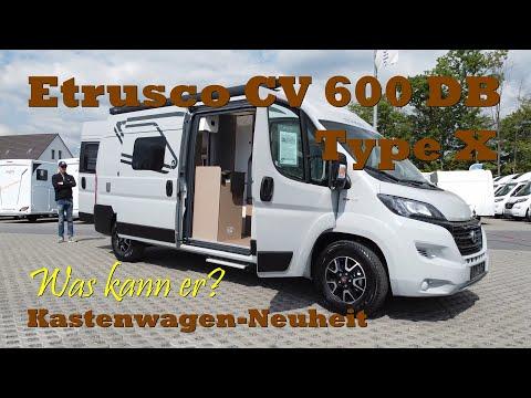 Etrusco CV 600 DB Neuheit Kastenwagen Wohnmobil ! Unsere Roomtour… Fazit..Vorstellung.. Empfehlung..