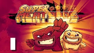 Super Meat Boy | Let's Play Ep. 1: We Own The Gritch | Super Beard Bros.