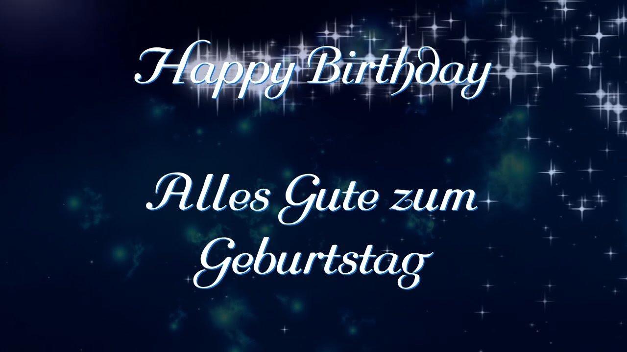 Geburtstagslied Deutsch Happy Birthday Zum Geburtstag Wünsch Ich