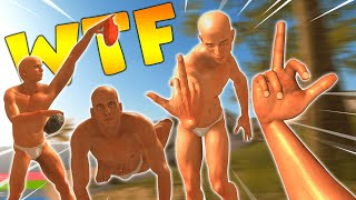 This Game is Very Family Friendly (Hand Simulator: Survival)