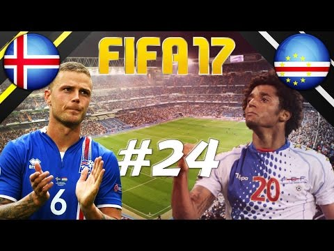 FIFA 17 - INTERNATIONAL ROULETTE #24 - ICELAND VS CAPE VERDE ISLANDS