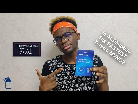 ALDImobile Review 🇦🇺 - The BEST and CHEAPEST Australian SIM Card? - Speedtest (Telstra MVNO)