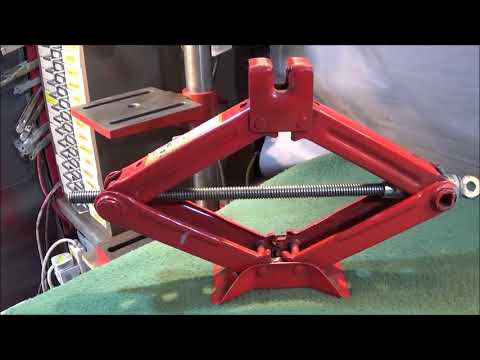 A Scissor Jack Hack Super Fast Bench Drill Table Support