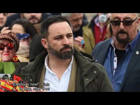 Spain Catalonia: Madrid mass protest over talks policy