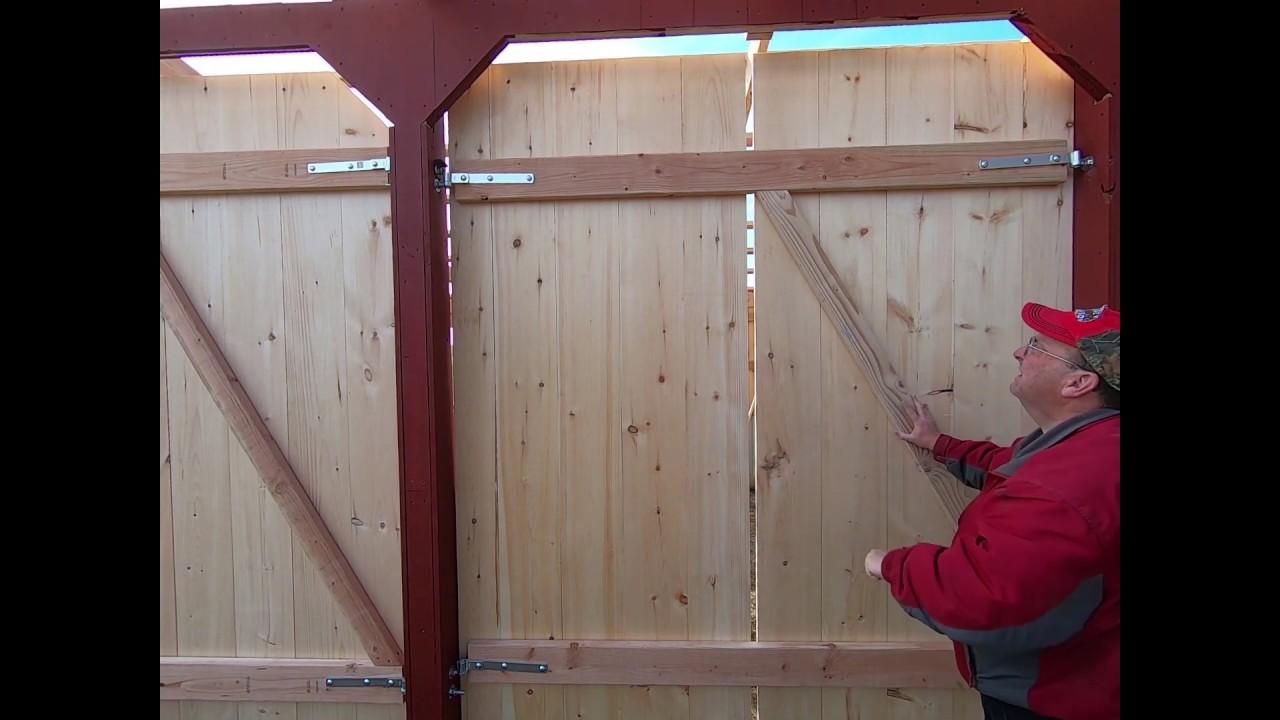 DON'T build BARN Doors UNTIL you watch this VIDEO...EASY BARN DOORS